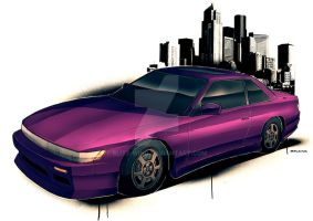 Silvia S13 by Blitz-Wing