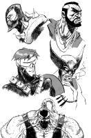 photoshop brush sketches 2 by anjinanhut