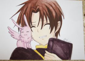 Teito Klein and Mikage (07-Ghost) by Cane-the-artist