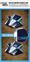 Creative Corporate Business Card by jasonmendes