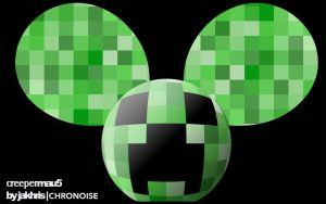 Creepermau5 mau5head project by JaKhris