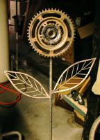 rebar and bike flower by photozz