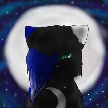 Moonlight Icon by WolfPawzArt