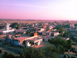 The Village Scene by ArshThind