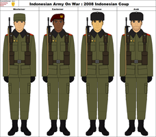 Indonesian Army On War : December Coup 2008 by ComradeMarshal