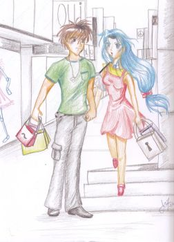 Full Metal Panic - shopping by Keroberus1977