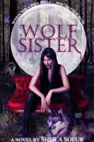 Wolf sister: fake book cover by TheSearchingEyes