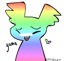 idk why but i just drew gama and its so fric k i n by KittydogCrystal