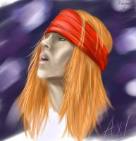 Axl Rose by VincentFurnier