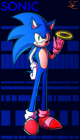 Sonic by Sydney-Empire