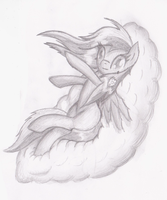 Me on a Cloud by Zephyter0