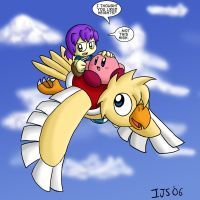 Kirby and Menai, a bit older by IvynaJSpyder