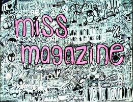miss magazine collage by ccaseymangg