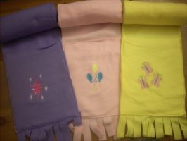 More pony scarves by spotsandpatches