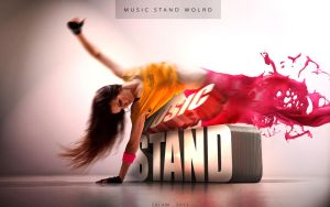 Music Stand World by SALAM-SOL