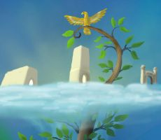 Asgard -Yggdrasil Preview by Harry-the-Fox