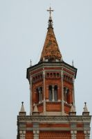 Loppia church spire by wildplaces