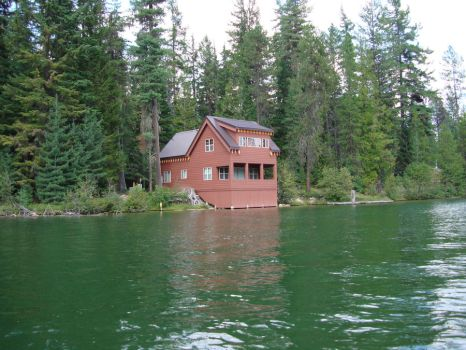 River Cabin, Priest Lake, ID by Freemag