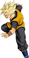 Goken (Super Saiyan) V1 by MAD-54