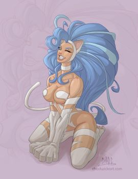 Felicia Pin-up by Chadwick-J-Coleman