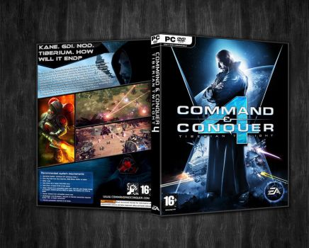 Command and Conquer 4 Box ART by xeeqqw