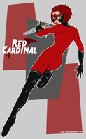 Red Cardinal by laurencskinner