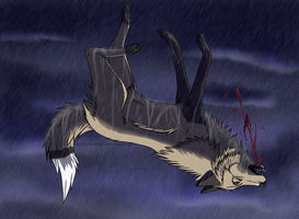 ::Falling to Pieces:: by KibatheMonster