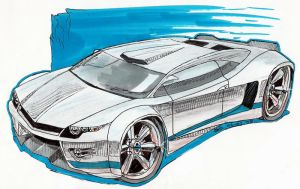 Vauxhall concept sketch by AaronsDesk