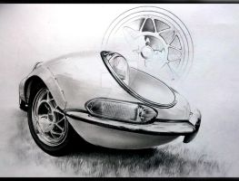 Jaguar e type WDT. by BorosDusan