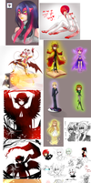 Holy freakin art dump Batman by AishaxNekox