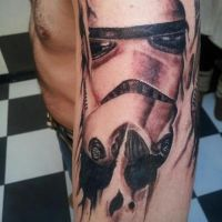 Stormtrooper tattoo by darkrenshi