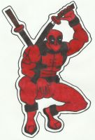 Deadpool [Sharpie Edition] by LudeMagik