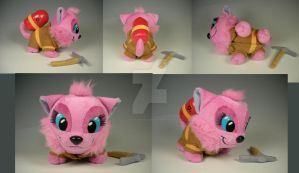 Rescue KItty the Plush by WhittyKitty