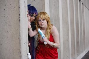 Panty and Stocking: Get em by LovelessXSpirit