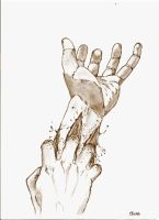 dIRTY  HANDS by Offenor