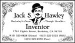 Jack Hawley Business Card by DonSimpson