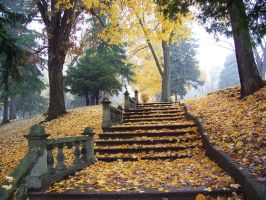 Cemetery Steps Stock 3 by Pan-Zareta