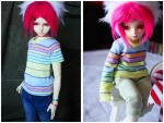 Shoppe : Pastel Neon Stripes by Nezumi-chuu