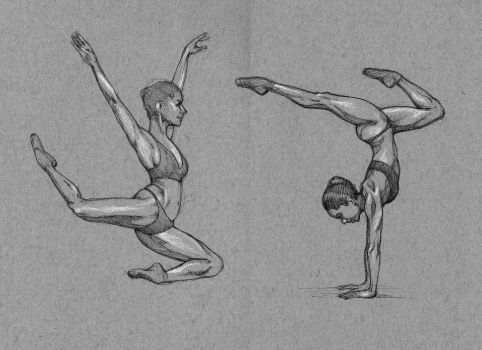 Sketching Misty Copeland by outsidelogic