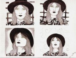 Florence Welch - Ceremonials era by InYourBrightBlueEyes