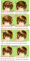 How to Make Shiny Hair by PaLM-NoI