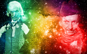 First Doctor wallpaper by Leda74