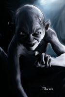 Gollum by Dhesia