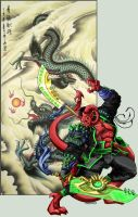 Chen Lao_ Wrath of the Dragon by skulker87