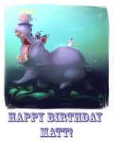 Happy BDay by goosezilla