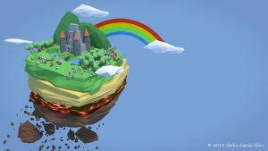 Floating Island by CGSiino