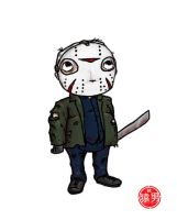 FatKid - Jason Voorhees by MonkeyMan504