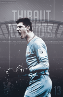 Thibaut Courtois Poster by bluezest1997
