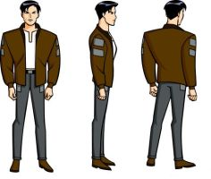 Terry Mcginnis Model Sheet by Nes44Nes