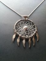 spread your wings and fly, handmade dreamcatcher by Vision4LifeCro